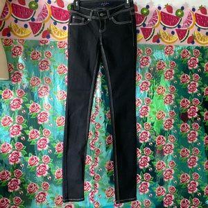 Earl Jean Blue / Black Skinny jeans size 0